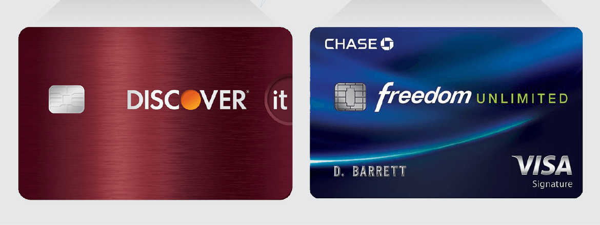 Discover Credit Card Sign In >> Discover It Cash Back Card Vs Chase Freedom Unlimited Card