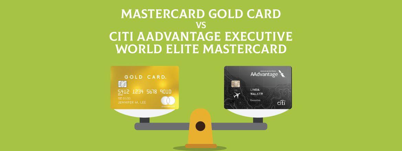 Citi Mastercard Sign In >> Mastercard Gold Card Vs Citi Aadvantage Executive World Elite