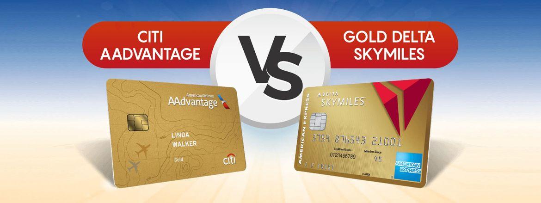 American Express Delta Card Login >> Compared Citi Aadvantage Card Vs Gold Delta Skymiles Card