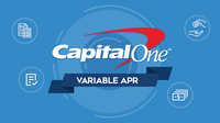 Featured image: Capital One Credit Cards: Variable APRs