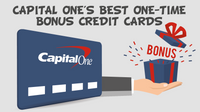 Featured image: Capital One Best One Time Bonus Credit Cards