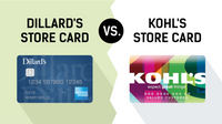 Featured image: Dillard's Store Card vs. Kohl's Store Card