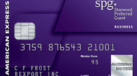 Featured image: Starwood Preferred Guest Business Credit Card from American Express
