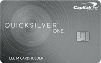 Featured image: Capital One QuicksilverOne
