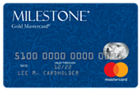 Featured image: Milestone Gold MasterCard