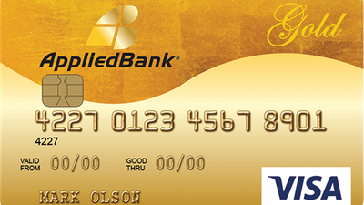 Featured image: Applied Bank Secured Visa Gold Preferred
