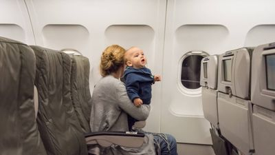 Featured image: Tips for Flying with a Baby or Toddler