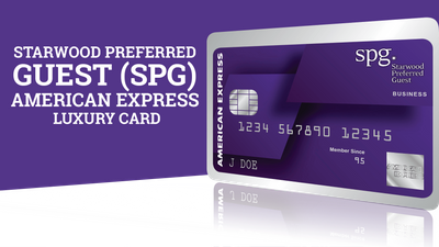 Featured image: The Starwood Preferred Guest (SPG) Luxury American Express Credit Card