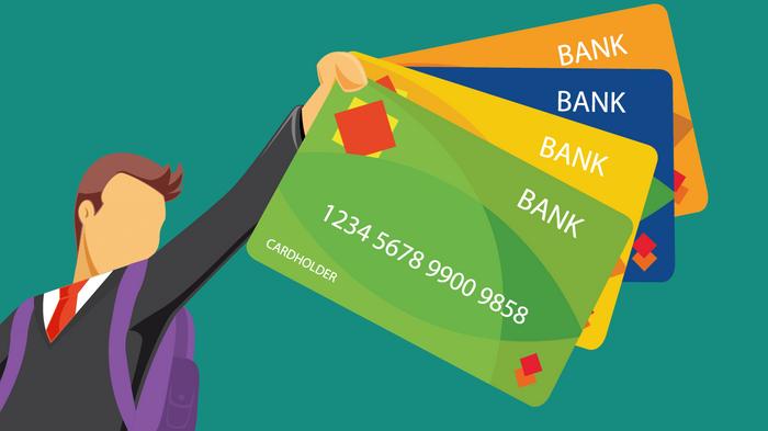 Image result for comparing credit cards illustration