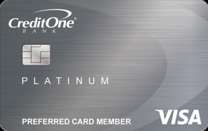 credit one bank unsecured platinum visa cardguru - Visa Unsecured Credit Card